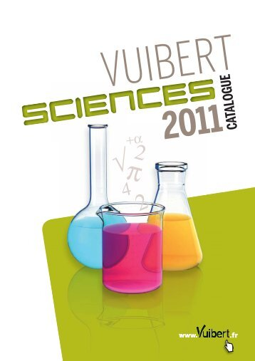 Catalogue Sciences 2011 - Vuibert