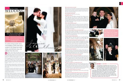 Janice & Anthony - Real Life Weddings