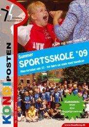 Kondiposten marts 2009 - Idrætsforeningen for handicappede i ...