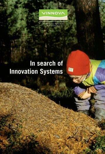 In search of Innovation Systems - Vinnova
