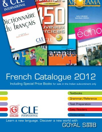 French Catalogue 2012