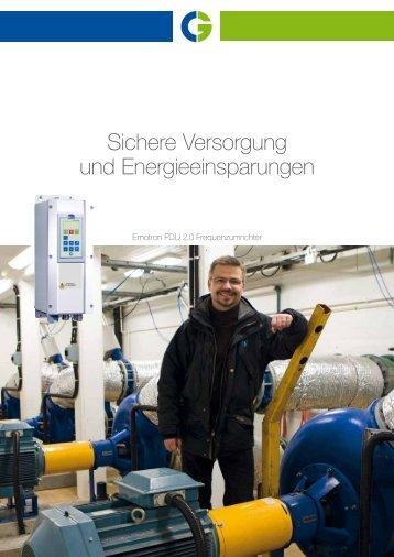 Sichere Versorgung und Energieeinsparungen - Emotron