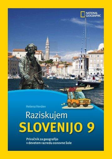 Raziskujem Slovenijo 9 - priročnik za učitelja (1. del)