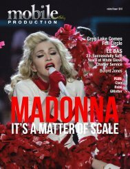 Madonna - It's a Matter of Scale - Mobile Production Pro