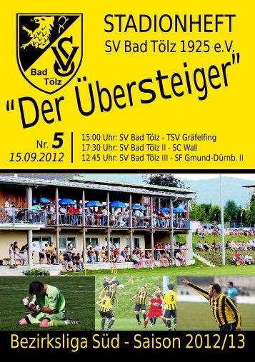 TSV Neuried - SV Bad Tölz (2:0) - SV Bad Tölz 1925 eV