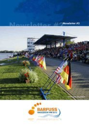 Download the Newsletter - Barfuss Wasserski - Weltmeisterschaft ...