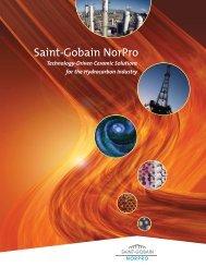 Saint-Gobain NorPro Capabilities Brochure