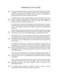 Breve histórico da Carta da Terra - Secretaria do Meio Ambiente e ...