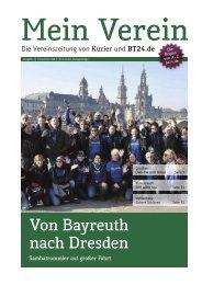 Bayerischer BauernVerband - Mein Verein - Nordbayerischer Kurier
