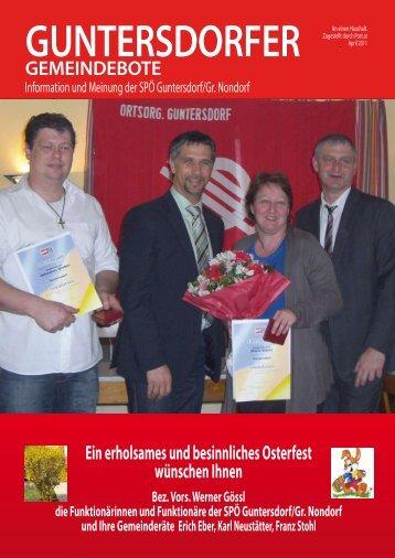 Guntersdorf - SPÖ Niederösterreich