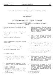 Europa-Parlamentets og RÃ¥dets forordning (EF) Nr. 1107/2009 af ...