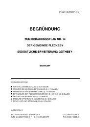 BEGRÜNDUNG - Amt-Schlei-Ostsee