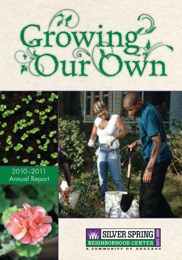 2010–2011 Annual Report - Silver Spring Neighborhood Center