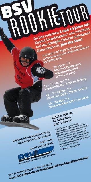 der Flyer auch als PDF-Datei zum - Allgäuer Skiverband