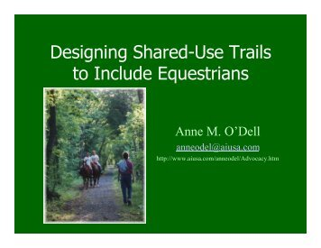 Designing Shared-Use Trails.ppt [Read-Only]