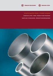 Katalog bezešvých trubek (pdf) - Třinecké železárny