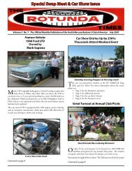 Special Swap Meet & Car Show Issue - Ford & Mercury Restorers ...