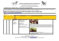 Weitere Verkaufspferde finden Sie auf den Homepages unserer ...
