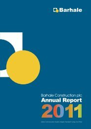 Barhale Annual Report 201