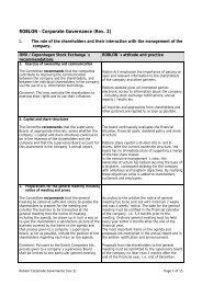 ROBLON – Corporate Governance (Rev. 2) - Roblon A/S