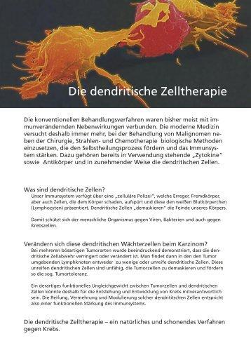 Die dendritische Zelltherapie - mozat