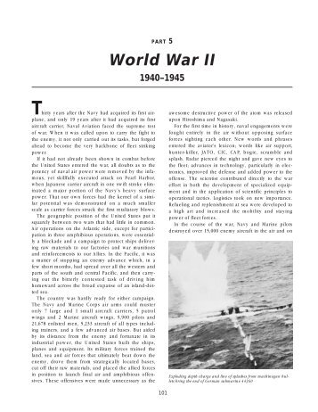 PART 5 World War II 1940–1945 - Naval Historical Center - The US ...