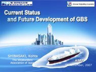 currnet status and future development of gbs - ASEF - Asian ...