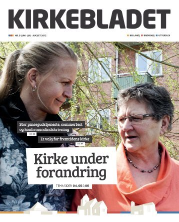 Kirke under forandring - this is the default web page for this server.