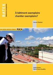 Dossier d'analyse - Ministère du Développement durable