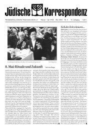 8. Mai - Jüdisches Leben in Berlin