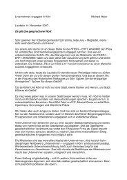 audatio für den Preisträger des Jurypreises 2008 (16,5 KB) - Kölner ...