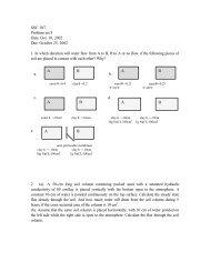 SSC 107 Problem set 3 Date: Oct. 18, 2002 Due: October 25 ... - LAWR