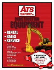 EQUIPMENTINC. - ATS Equipment