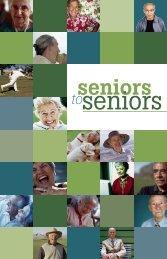 Click to view Seniors2Seniors document - Seniors Mental Health