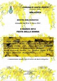 Mostra bibliografica festa della donna (1) - Comune di Santa Giusta