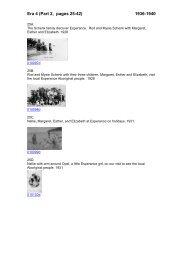 Era 4 (Part 2, pages 25-42) 1936-1940