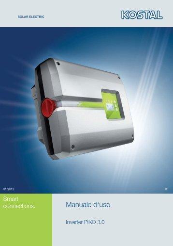 Manuale d'uso - Solar-Fabrik AG