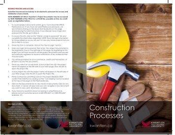Construction Processes