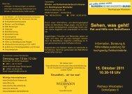 Flyer - Mein Arzt in Wiesbaden
