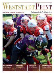 Stadtmagazin für West-Heidelberg - Weststadt Online