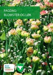 FAGDAG: blomster oG løk - FAGUS