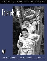 Friendship Story Sampler - Reading Is Fundamental