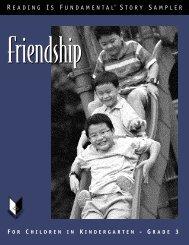 Friendship Story Sampler - Reading Is Fundamental