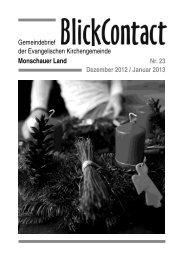 Dezember 2012 / Januar 2013 - Evangelische Kirchengemeinde ...