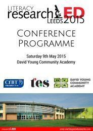 ResearchED 2015 Leeds Programme web