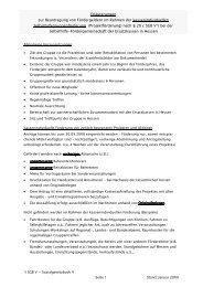 Erläuterungen zur Beantragung von Fördergeldern im Rahmen der ...