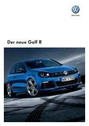 Der neue Golf R - pagenstecher.de Static