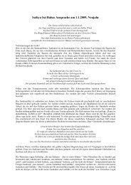 Neujahrsansprache vom 01.01.2009 - der Avatar unserer Zeit