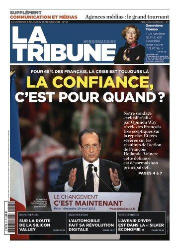 C'ESTPOUR QUAND? - La Tribune