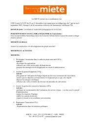 Annonce coordinateur MIETE.pdf - Rhône-Alpes Solidaires